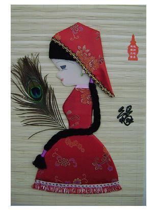 丝绸贴画供应商,浙江丝绸贴画生产商 - 杭州晨馨工艺