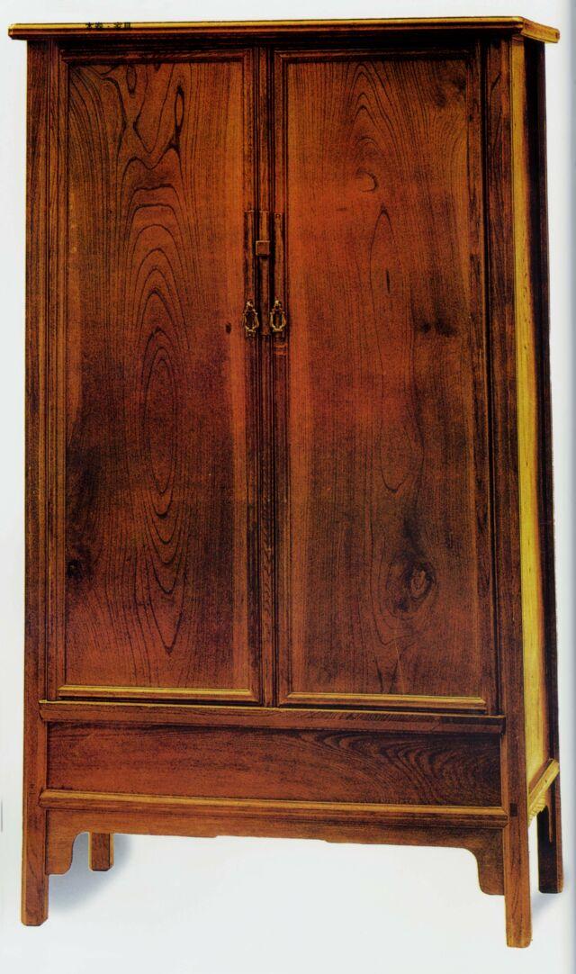 榉木圆角柜