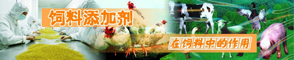 饲料添加剂在饲料中的作用