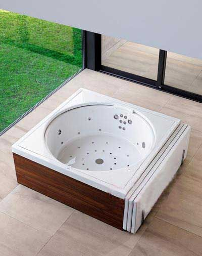 看似面盆的浴缸