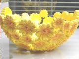 超美的菊花果篮